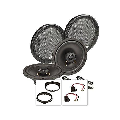 tomzz Audio 4039-000 Lautsprecher Einbau-Set für Opel Corsa B und C, Tigra, Meriva, Fronttür
