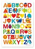byGraziela Kinderzimmer Poster: ABC Alphabet Poster 50x70cm