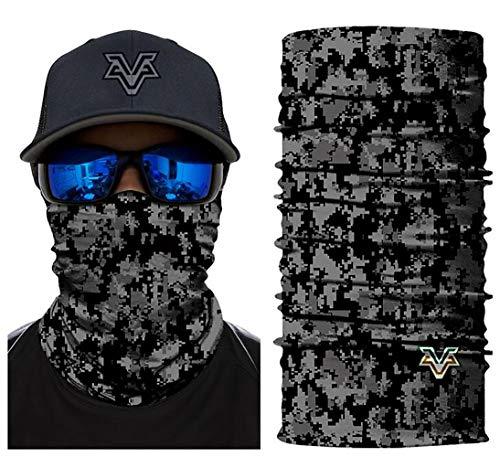 Unbekannt 3D Bedrucktes Multifunktionstuch Digital Camouflage Dress up Männliche Halsrohr Motorrad Face Shield,D -