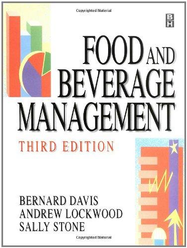 Food and Beverage Management