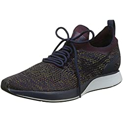 Nike Air Zoom Mariah Flyknit Racer, Zapatillas de Gimnasia para Hombre, (College Navybordeauxdesert Moss Black), 41 EU