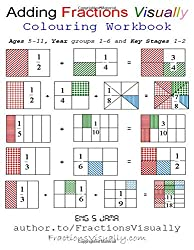 Adding Fractions Visually: Colouring Workbook