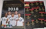 Rewe Sammelalbum DFB WM 2018 Neu Weltmeister Sonderalbum und 50 Tüten und bmg2000 Aufkleber