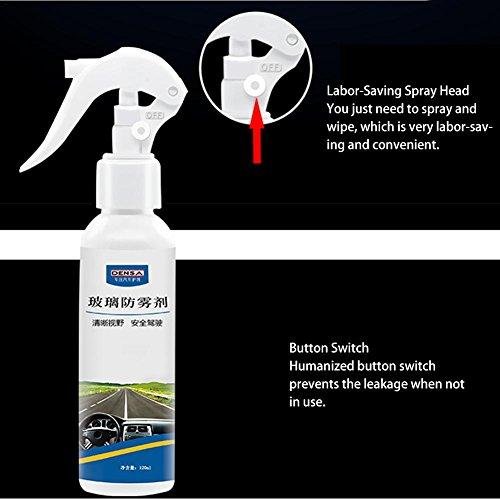 PROKTH-Antiappannamento-spray-vetro-interno-anti-nebbia-agente-per-Finestra-dellautomobile-Anteriore-parabrezza-specchietto-retrovisore-120ml