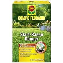 Compo floranid Start de césped para 5kg, volldünger, largo tiempo abono