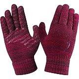 Nike Herren Tech-Touchscreen-kompatible Silikon-Griff-Handfläche für kaltes Wetter, Unisex, für den Winter, gestrickt - Mulberry/Noble Purple/Noble Purple - Mens Small/Medium, Womens L/XL