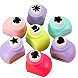 Shopaholic Set of 5 Craft Punches to Make School Project Attractive & Easier(Random Design)
