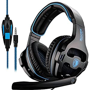 SADES Gaming Headset for Xbox one, PS4, PC