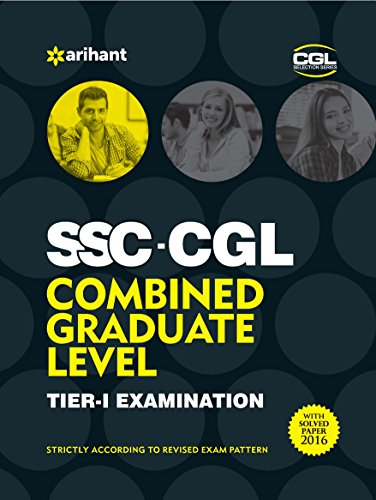 SSC Combined Graduate Level Tier 1 Examination 2016 (Old Edition)
