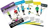 STOP! Fitness | Training mit dem Übungsband | Trainingskarten Übungskarten, deutsche Version, Kartengröße 66 x 100 mm mit Kunststoffbox