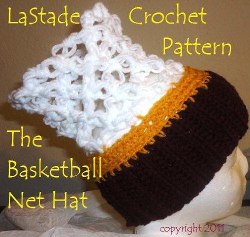 Basketball Net Hoop Hat Crochet Pattern (English Edition) -