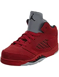 new concept cd874 c6fd7 Jordan Retro 12,7 cm rot Wildleder