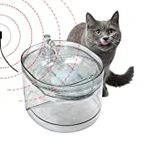 cuckoo-X Dispensatore Automatico di Acqua per Animali Domestici 2,6 L per Cani e Gatti Distributore d'Acqua Induzione ad infrarossi Intelligente Fornitura d'Acqua elettrica