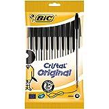 Bic Cristal Original Punta Media 1 mm Confezione 10 Penne Colore Nero