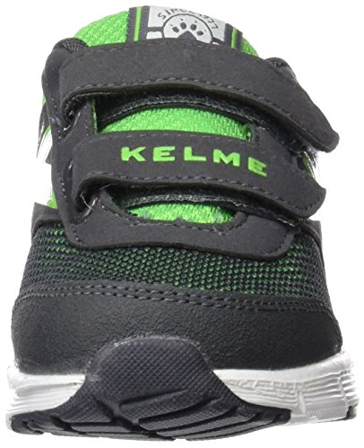 Kelme Runner One, Chaussures mixte enfant Gris (anthracite)