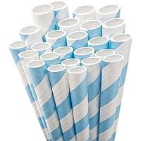 Aardvark Paper Straws Jumbo Unwrapped 7,75