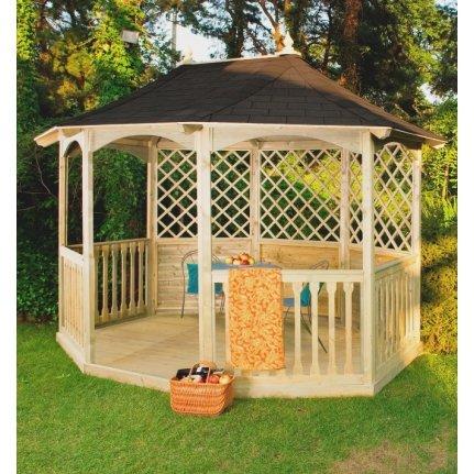 Winchester Carpa con tejas (grande) Jardín Casa de madera barato comprar.
