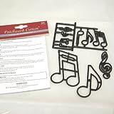 Patchwork Cutters Emporte-pièces en forme de notes de musique XL