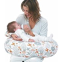 i-baby almohadas de lactancia materna cojín de maternidad Almohada/embarazo lactancia almohadillas acogedor con cojín (lavable ajustable forma, 2en 1Brazo de cuerpo funda de almohada + funda de almohada