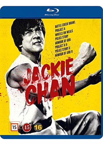 Jackie Chan Vintage Collection - 8-DVD Disc Set ( Battle Creek Brawl / Project A / Wheels on Meals / Police Story / Armour of God / Project A 2 / Police Story 2 [ Dänische Import ] (Blu-Ray) (Chan Collection Jackie Blu-ray)