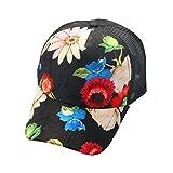 UFACE Hoop Anhänger Baseball Mütze Männer und Frauen paar Hut Paar Brief Baseball Cap Unisex Snapback Hip Hop flachen Hut (A)