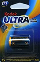 Kodak Ultra 123 3V Lithium Battery Exp 2023 from Kodak