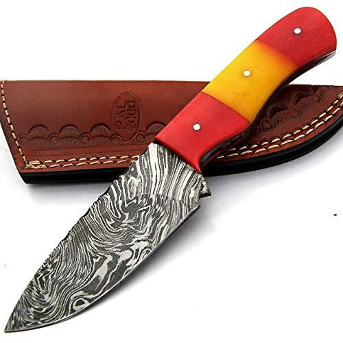 PAL 2000 SBRR-9411 Cuchillo Hoja Acero Damasco