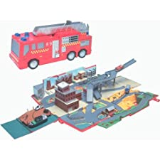 Hasbro Micro Machines Emergency Rescue Fire Truck