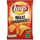 Lay's chips maxi craquantes nature 135g (Prix Par Unité) Envoi Rapide Et Soignée