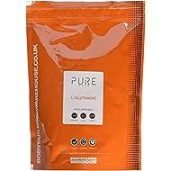 Bodybuilding Warehouse Pure L-Glutamine Powder Unflavoured 1 kg