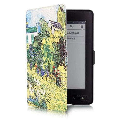 ProElite Ultra Slim Smart Flip case cover for all New Amazon Kindle Paperwhite (for 2015 Edition) (Auto Sleep/Wake up with magnetic lock) (Design-Garden)