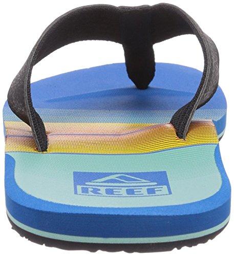 Reef REEF HT, Infradito uomo Blu (Light Blue/Red/)