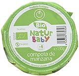 Natur Baby Puré Ecológico para Bebé - Paquete de 18 x 130 gr - Total: 2340 gr