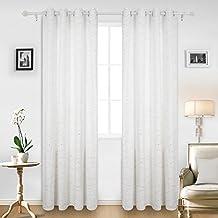 suchergebnis auf amazon.de für: gardinen wohnzimmer modern weiss - Vorhange Wohnzimmer Weis