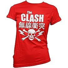 Damen-T-Shirt The Clash - Japanese Tee 100% Baumwolle LaMAGLIERIA