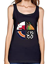 Women's Bulls White Sox Bears Blackhawks Chicago Tank Top