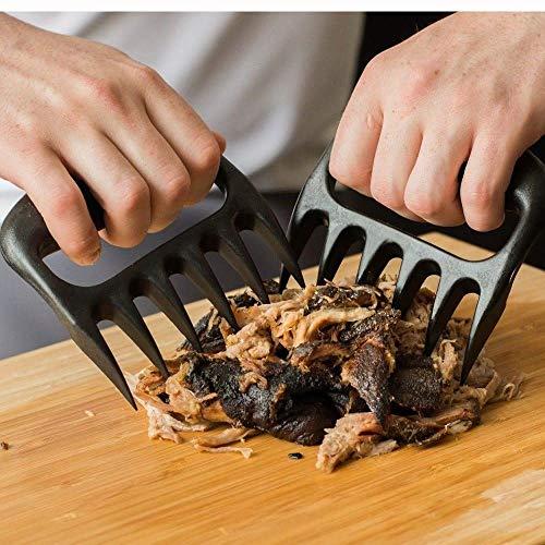 Shine Bärenklauen-Werkzeug zum Zerkleinern von Fleisch, Gemüse und zum Mischen von Salat, u.a. Für Pulled Pork