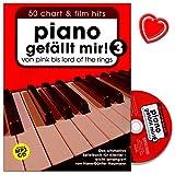 Piano gefällt mir - Band 3 - Das ultimative Spielbuch für Klavier arrangiert von Hans-Günter Heumann - mit CD und bunter herzförmiger Notenklammer bei Amazon kaufen