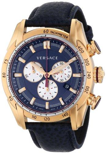Versace Homme Cuir Quartz Montre vdb03-0014