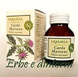 CARDO MARIANO Estratto secco 50 capsule da 613 mg. Depurativo, fegato, funzioni epatiche e digestive, epatite, cirrosi
