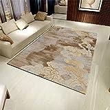 QAQ Teppich Polyester Haarig Einfach Weich Rutschfeste Sofa Couchtisch Wohnzimmer Schlafzimmer,D,180 * 270Cm