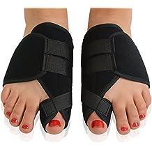 PIXNOR 1par Hallux Valgus férula Corrector de juanetes los dedos de los pies Protector alivio del dolor
