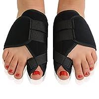 Pixnor 1 Corrector de juanete par Hallux Valgus férulas dedos de los pies dolor Protector