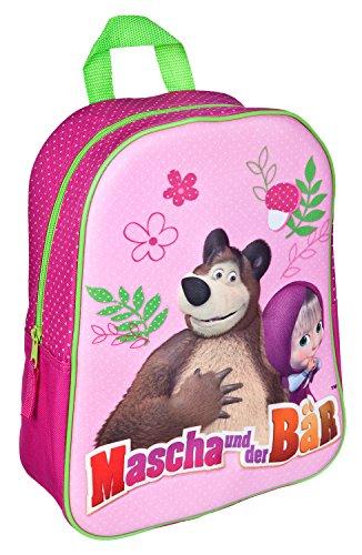 Undercover MBCE7622 Rucksack mit 3D Applikation, Mascha und der Bär
