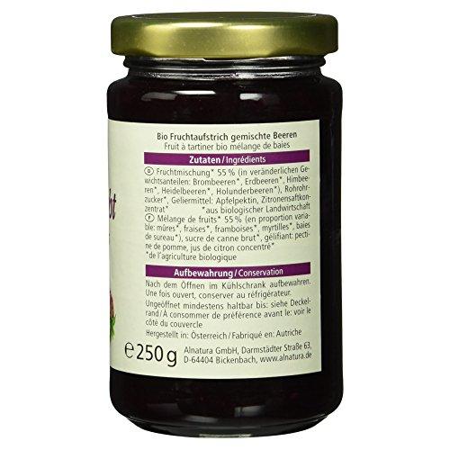 Alnatura Bio Fruchtaufstrich Waldfrucht, vegan, 6er Pack (6 x 250 g) - 5