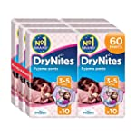 Huggies DryNites Girls Pants 3-5 Year...