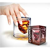 Emerge Doomed Skull Shot Glass Use Upside Down With Whiskey Vodka Party Gift 75 ML