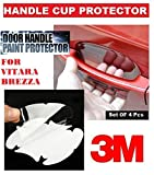 #3: Alive Traders 3M Clear Side Door Handles Paint Protective Film For Vitara Brezza