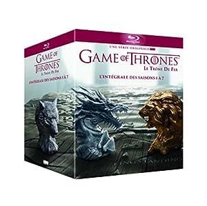 Game of Thrones – L'intégrale des Saisons 1 à 7 – Edition Limitée Inclus un Contenu Exclusif et Inédit « Conquête & Rébellion - L'histoire des Sept Couronnes » [BLURAY]