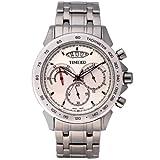 Time W70003G.02A - Orologio da polso da uomo, cinturino in acciaio inox colore grigio